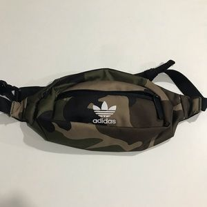 Adidas camouflage belt bag